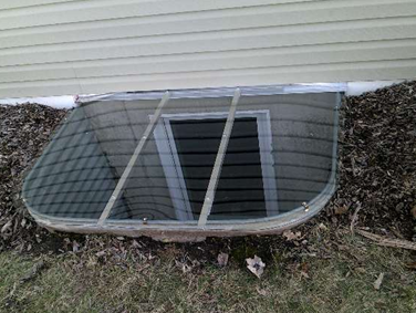 it took our installer about minutes to install this egress size window well cover an instruction sheet and - Window Well Covers