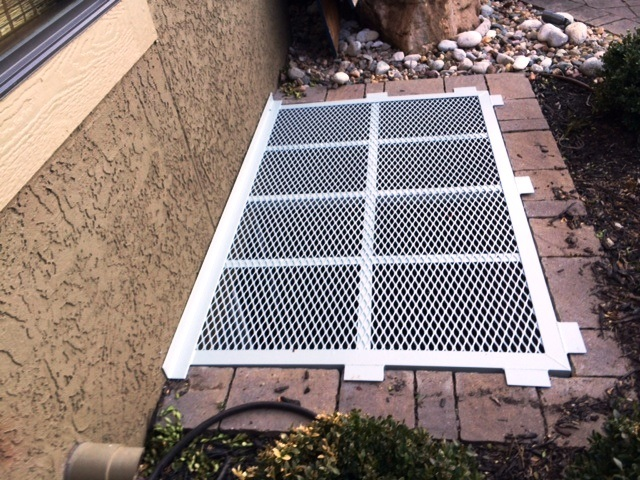 Aluminum Window Well Grate