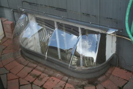 Bubble Window Well Covers 1