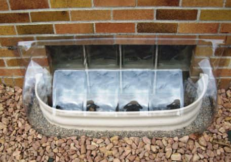 Bubble Window Well Cover