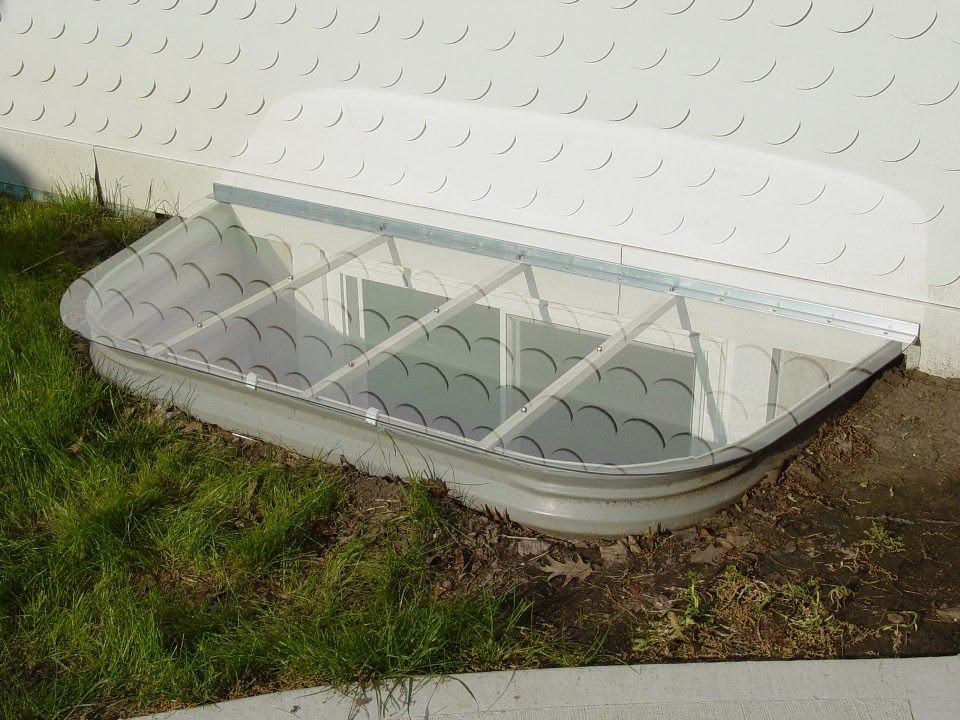 Flat Window Well Covers Low Profile Covers