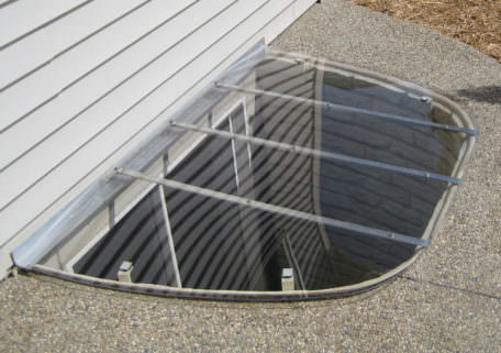Sloped Window Well Cover 1