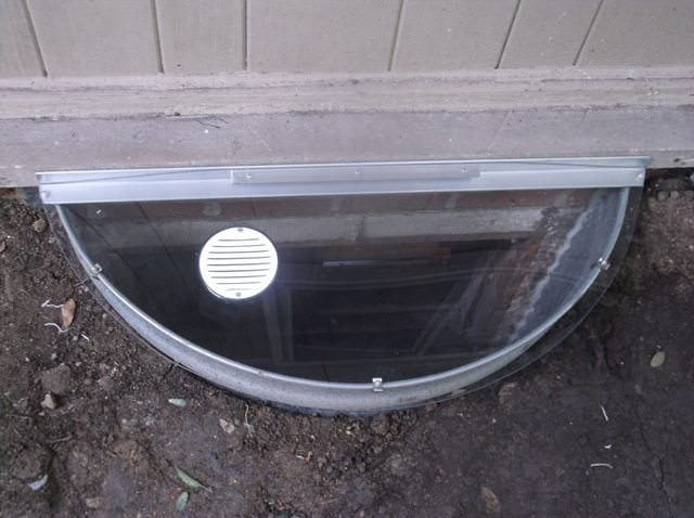 Vented Window Well Covers