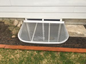 egress metal grate kit