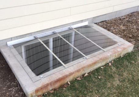 rectangular window well cover