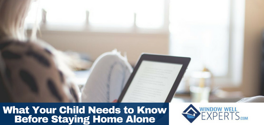 What Your Child Needs to Know Before Staying Home Alone