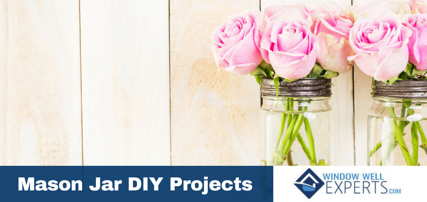 4 DIY Mason Jar Projects
