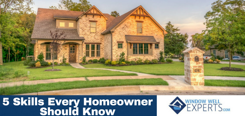 5 Skills Every Homeowner Should Know