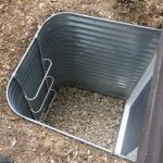 Galvanized Egress Well 36 projection