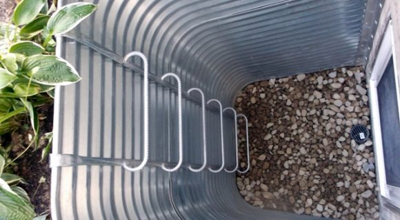 Heavy Duty Galvanized Egress Well 36 projection