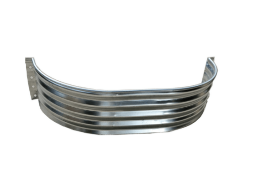 Metal-well-extension