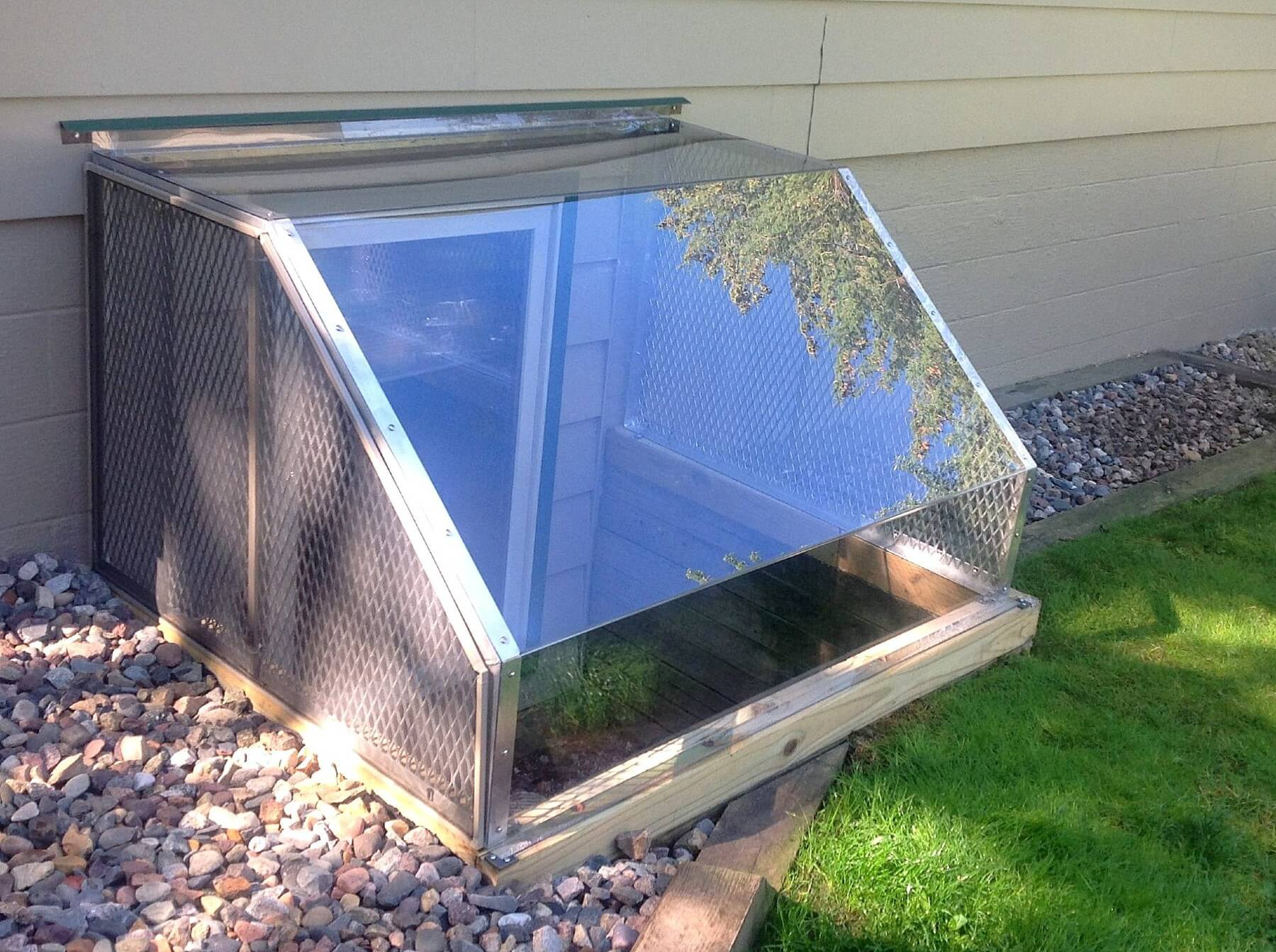 Atrium Dome Window Well Covers Beautiful Simple Design Durability