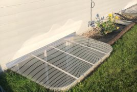 Sloped Basement Cover New