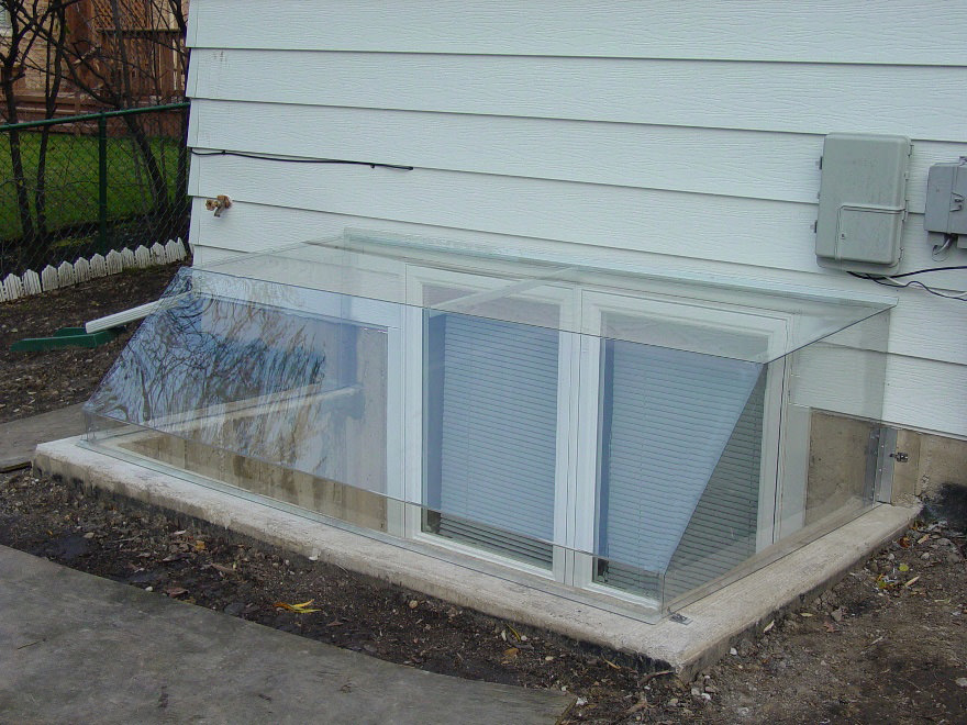 Atrium Dome Window Well Covers