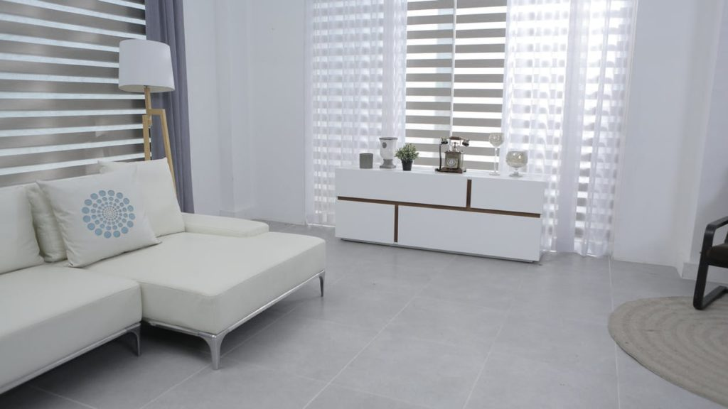 light colored room