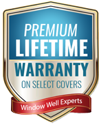 Premium lifetime warranty on bubble covers