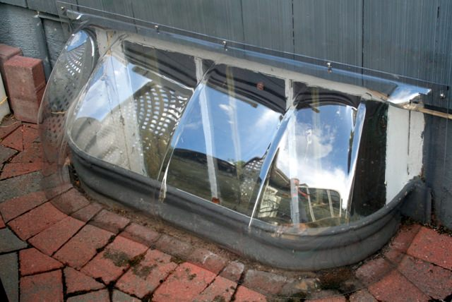 Bubble Window Well Covers
