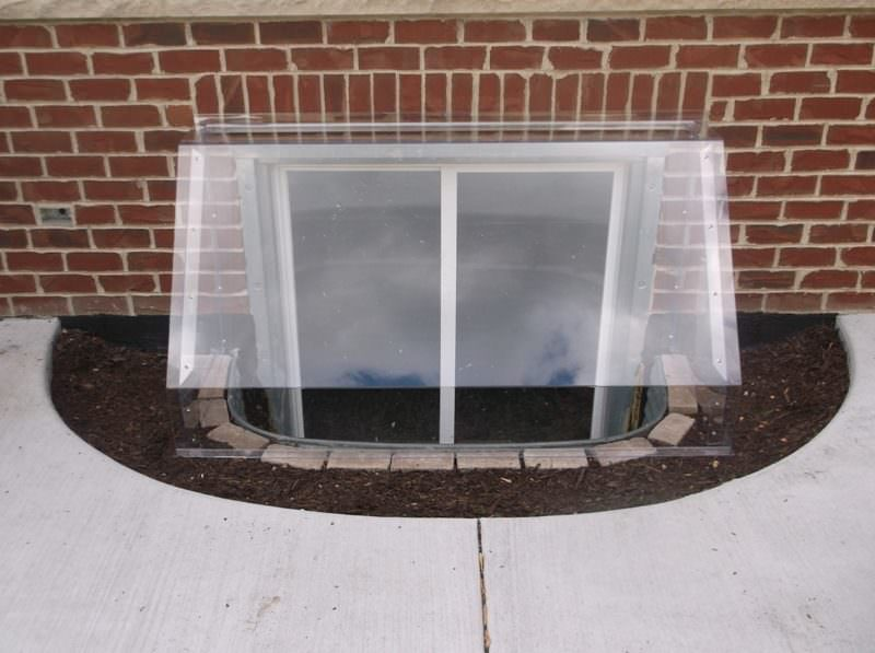Canopy Dome Window Well Cover