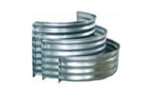 Galvanized Steel Window Well - Circular Sizes Options