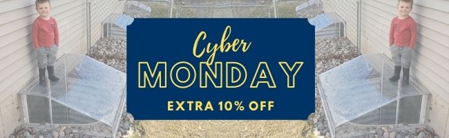 Cyber Monday Promo Banner for Window Well Experts
