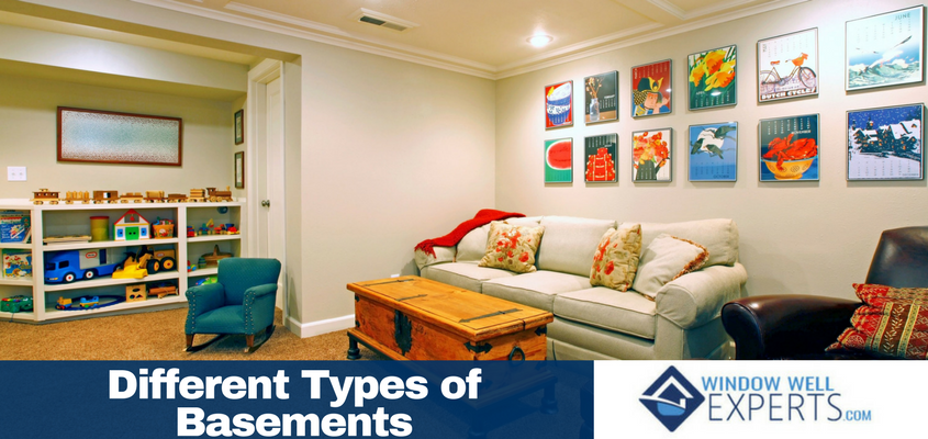 Different Types of Basements