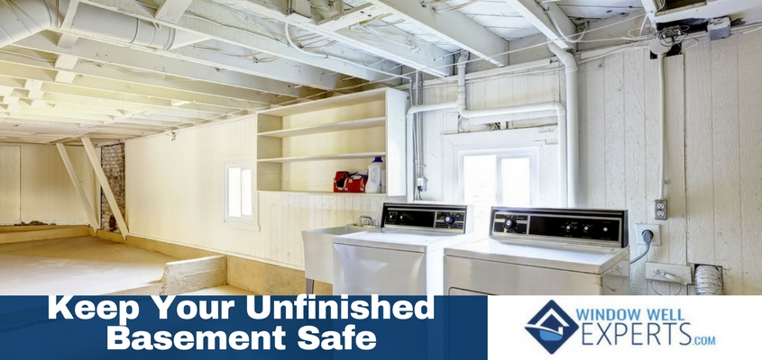4 Ways to Keep Your Unfinished Basement Safe For Your Family