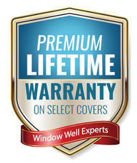 Premium lifetime warranty badge