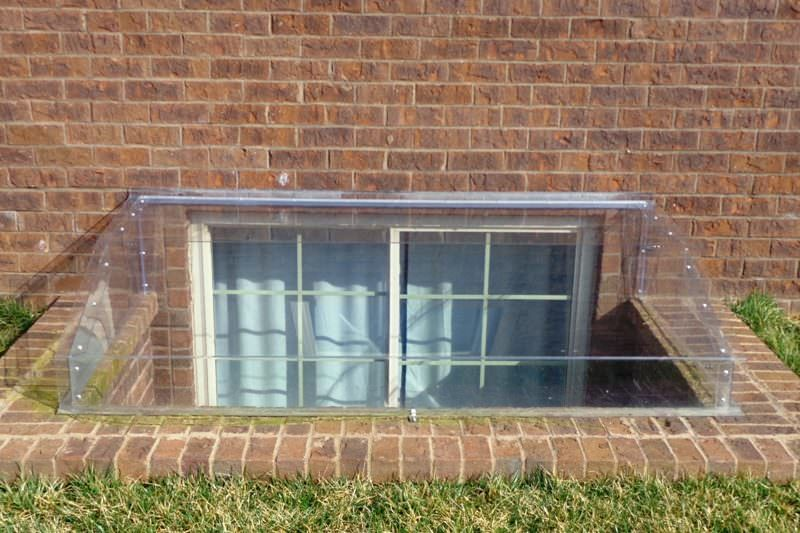 Our Atrium Window Well Covers allow maximum light into your basement!