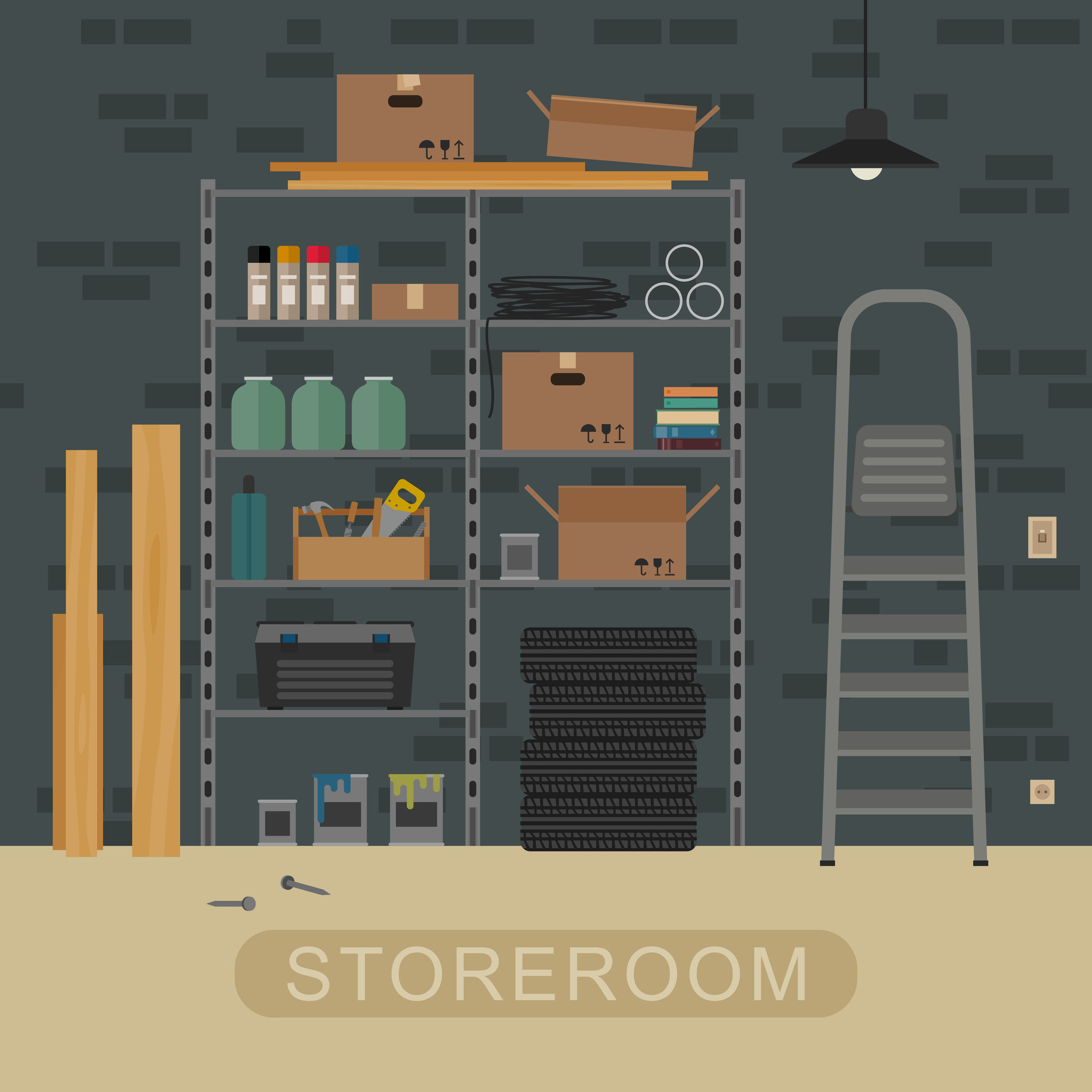 storage room graphic