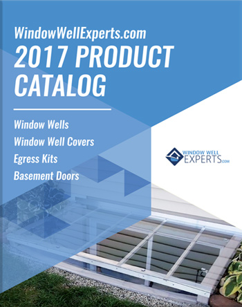 Bubble Window Well Covers - Includes Lifetime Warranty on privacy window well covers, measuring window well covers, home window well covers,