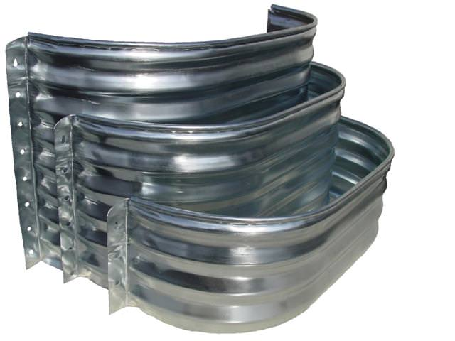 Elongated Metal Window Wells Up To 91 Quot Wide And 72 Quot Deep