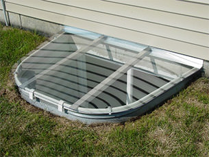 Sloped Window Well Covers
