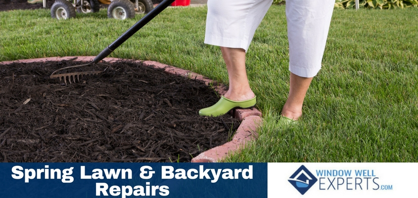 Spring Lawn and Backyard Repairs That Will Help You Overcome Winter