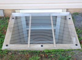 Frank B.'s square window well cover