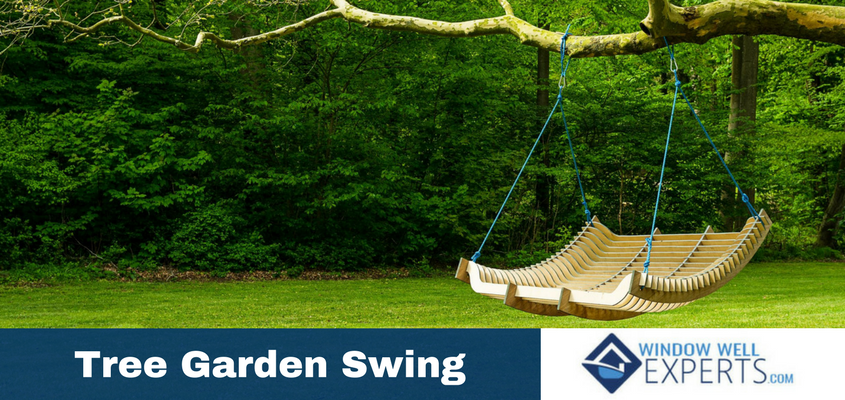 3 Ideas for Elegant Tree Garden Swings