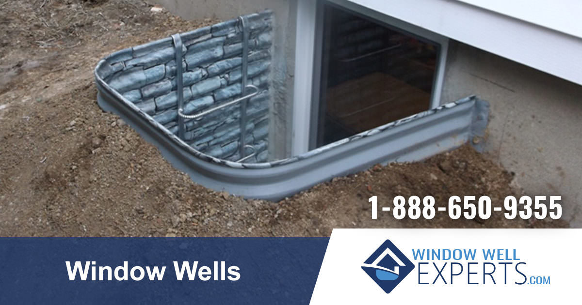 Window Wells Extremely Durable Metal Composite Window
